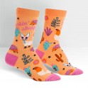"Sock It To Me ""Lookin'Sharp"" Women's Crew Socks"