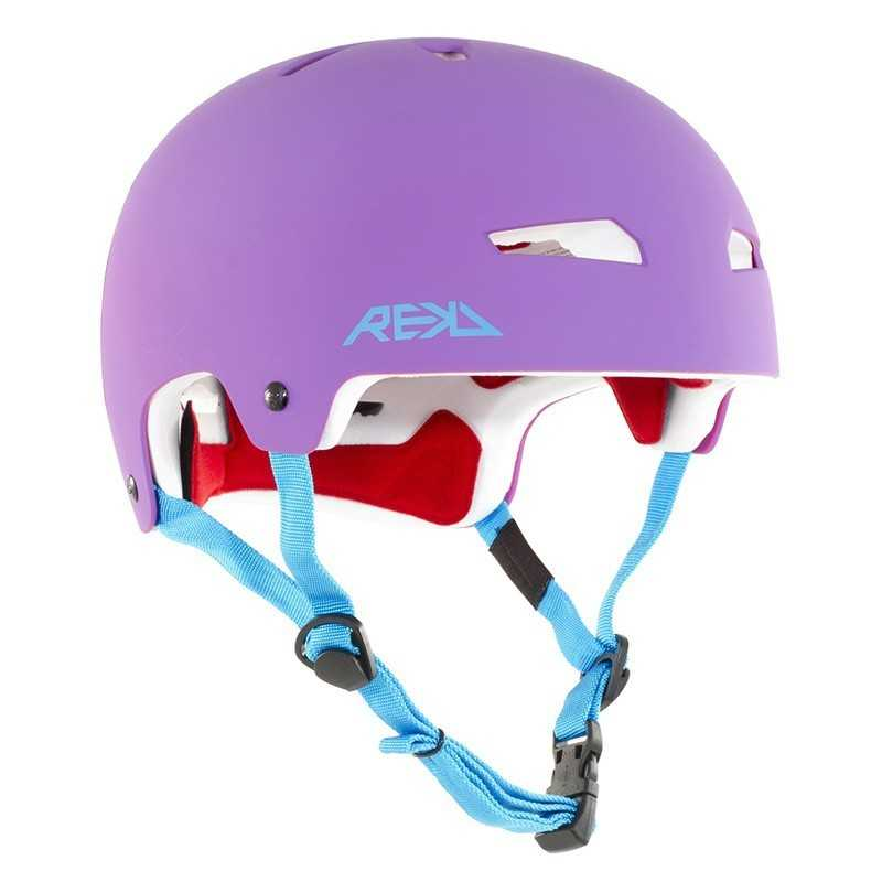 Rekd Elite Purple/ Blue Helmet