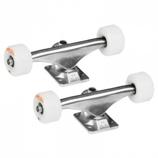 "Mini Logo 8"" Trucks/ Bearings/ Wheels Combo"
