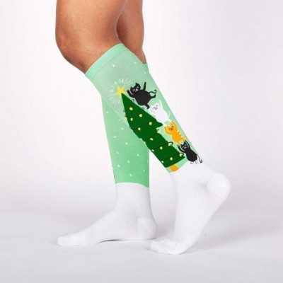 "Sock It To Me ""Naughty or Nice?"" Knee-high Socks"