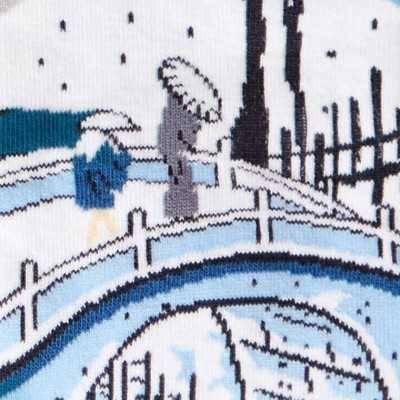"""Sock It To Me """"Meguro Drum Bridge"""" Chaussettes Mi-bas"""