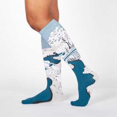 """Sock It To Me """"Meguro Drum Bridge"""" Knee-high Socks"""