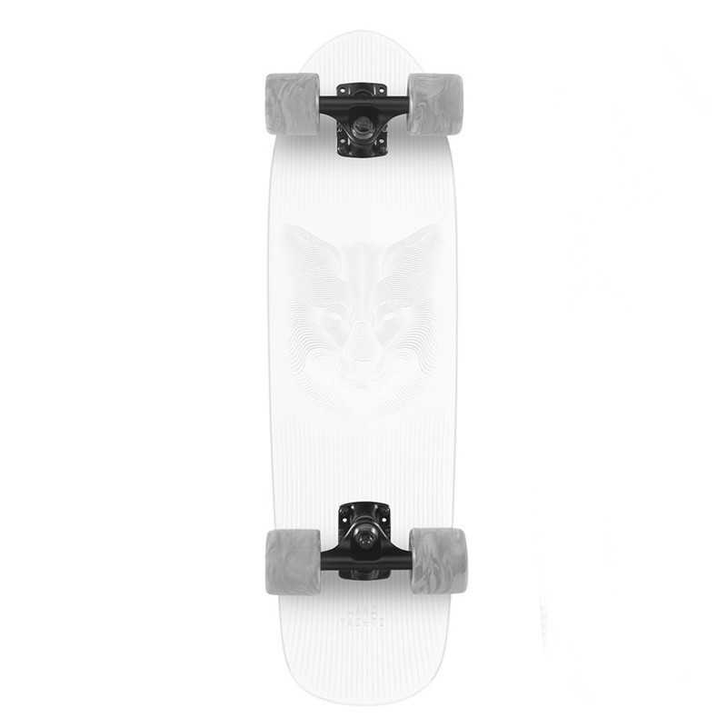 "Landyachtz Dinghy Arctic Fox 28.5"" Cruiser Skateboard"