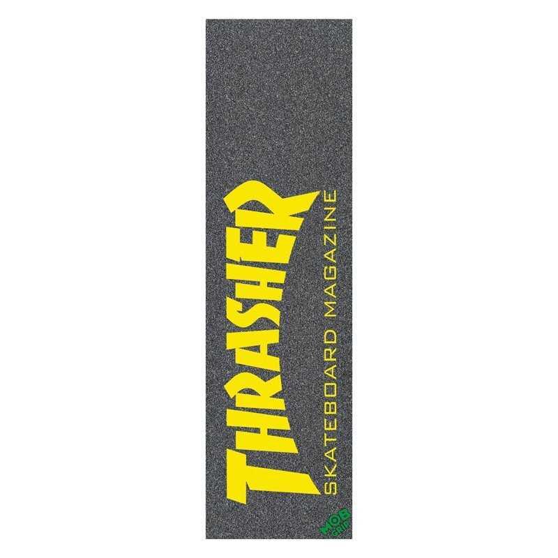 "MOB Trasher Skate Mag Yellow 9x33"" Skateboard Griptape"
