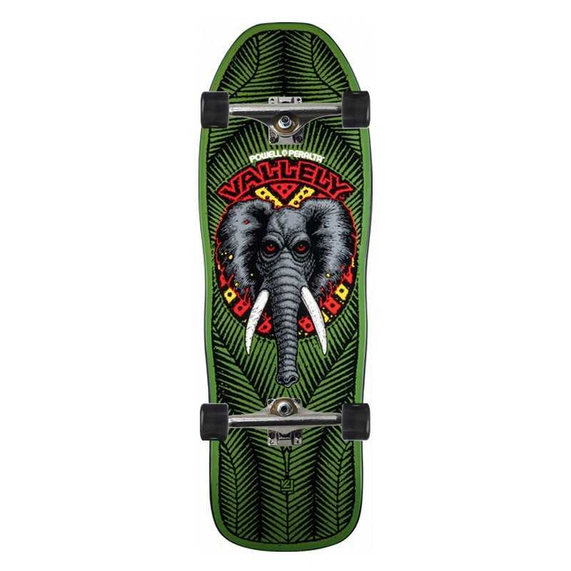 Powell Peralta Vallely Elephant Green Skateboard Complet