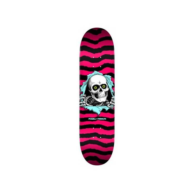 "Powell Peralta PS Ripper 8"" Hot Pink Skateboard Deck"