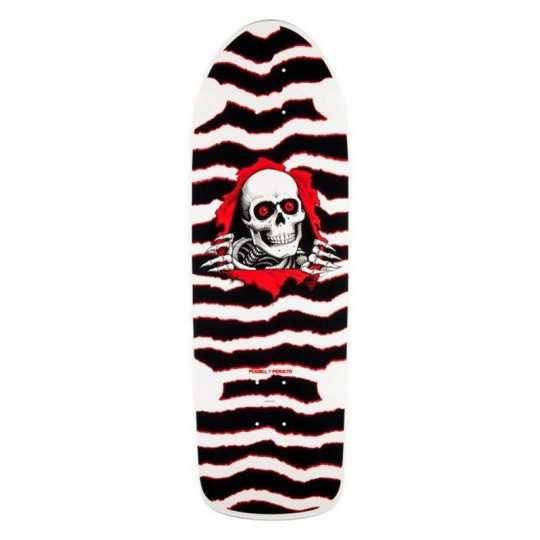 "Powell Peralta OG Ripper 10"" White Skateboard Deck"