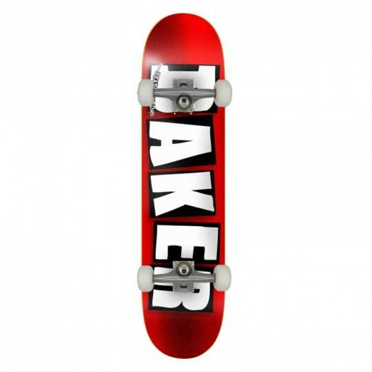 Baker logo red foil 8.25 skateboard deck