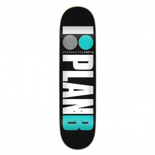"Skateboard deck Plan B Team OG 7.75"" teal"