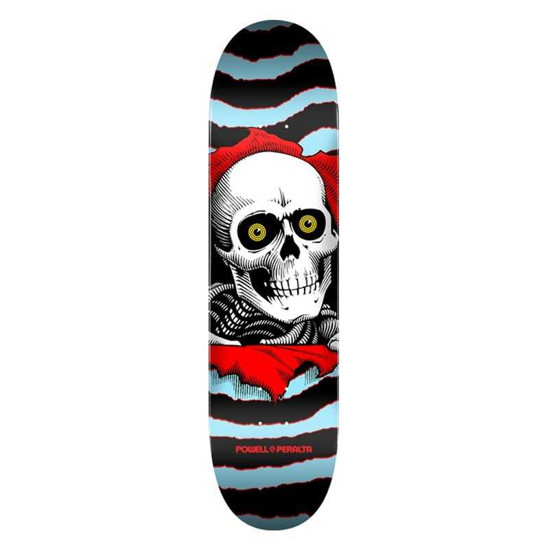 "Powell Ripper Blue 8""x31.45"" Skateboard deck"