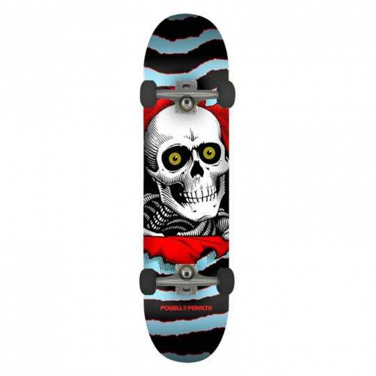 "Powell Peralta Ripper PP 8"" Blue Skateboard Complet"