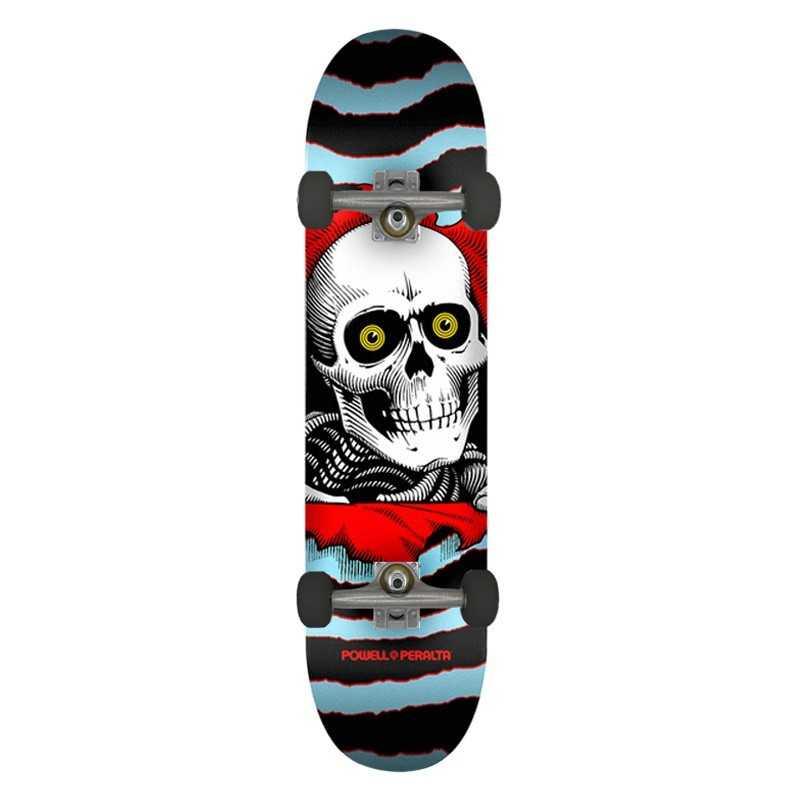"Powell Peralta Ripper PP 8"" Blue Complete Skateboard"