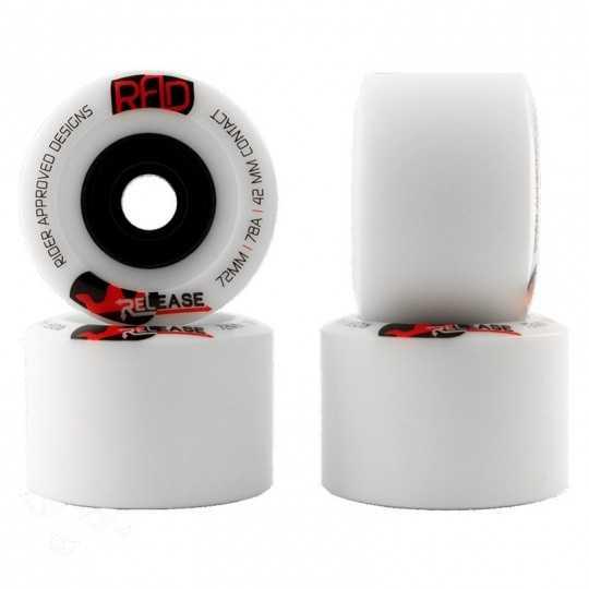 Rad Wheels Release 72mm 78A Roues longboard