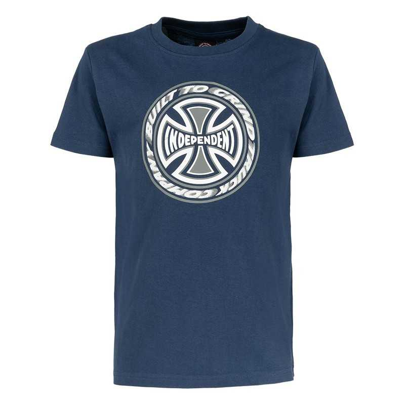Independent TC Blaze Kids Tee Shirt Navy
