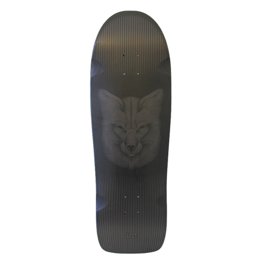 "Landyachtz ATV-X Ditch Life 31"" Night Fox Longboard Deck"