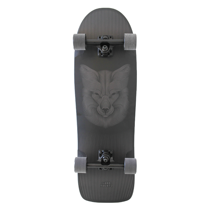 "Landyachtz ATV-X Ditch Life 31"" Night Fox Complete Longboard"