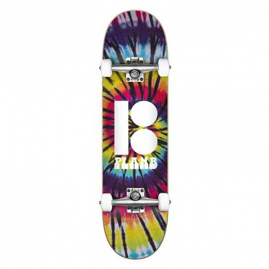 "Plan B Team Spiral 7.75"" Complete Skateboard"