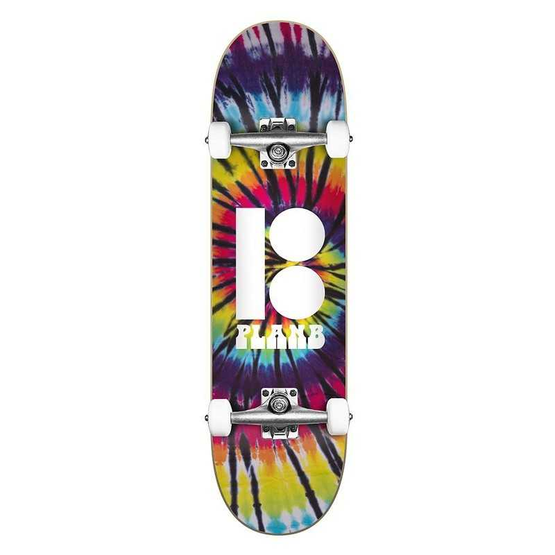 "Plan B Team Spiral 7.75"" Skateboard Complet"