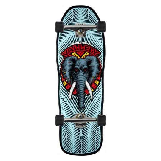 "Powell Peralta Vallely Elephant 10"" Blue Complete Skateboard"