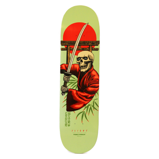 "Powell Peralta Flight Blair 8.25"" Bushido Skateboard Deck"