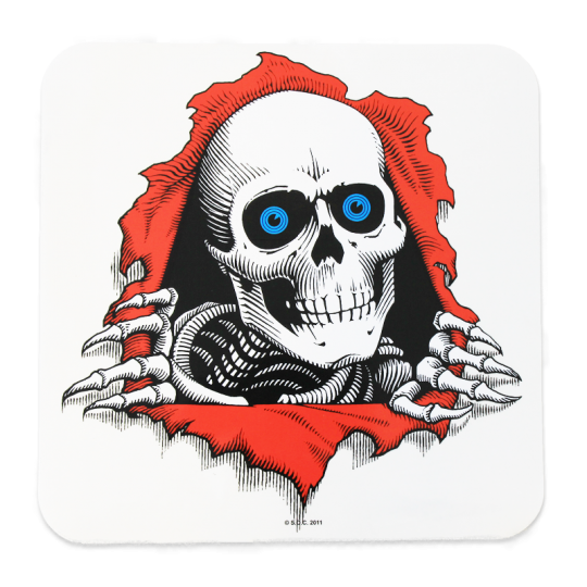 Powell Peralta Ripper 30cm Clear Sticker