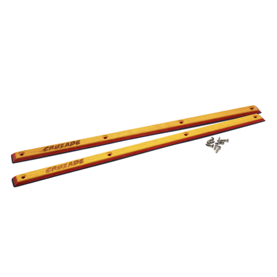 "Cruzade Maple Rails 14.5"" Yellow/ Red/ Blue"