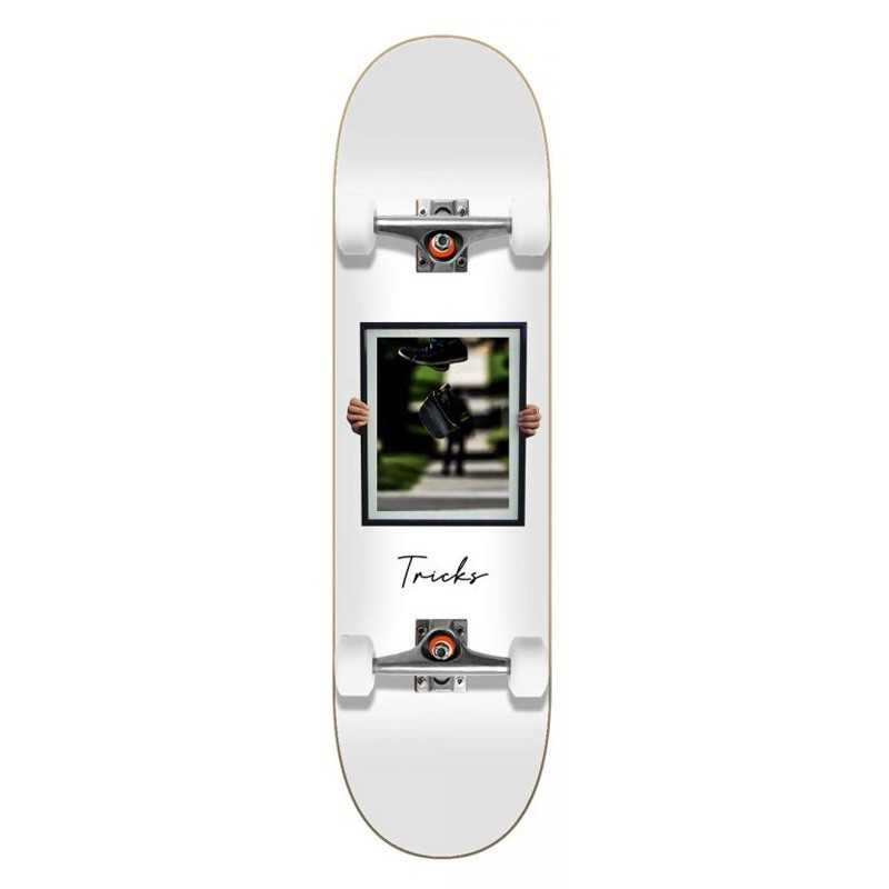 """Tricks Flip 7.87"""" Skateboard Complet"""