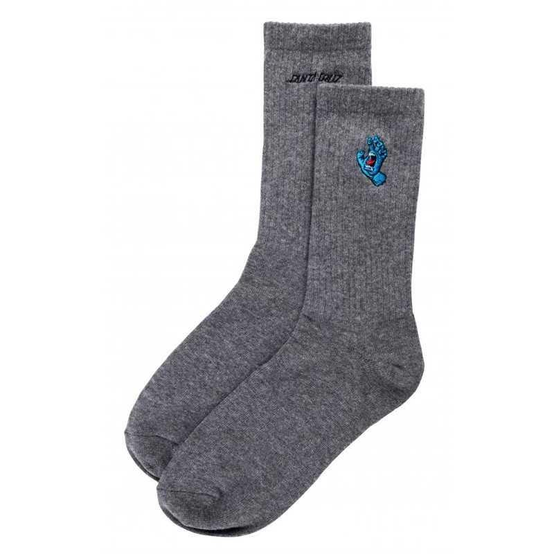 Santa Cruz Mini Hand Dark Heather Men's Socks