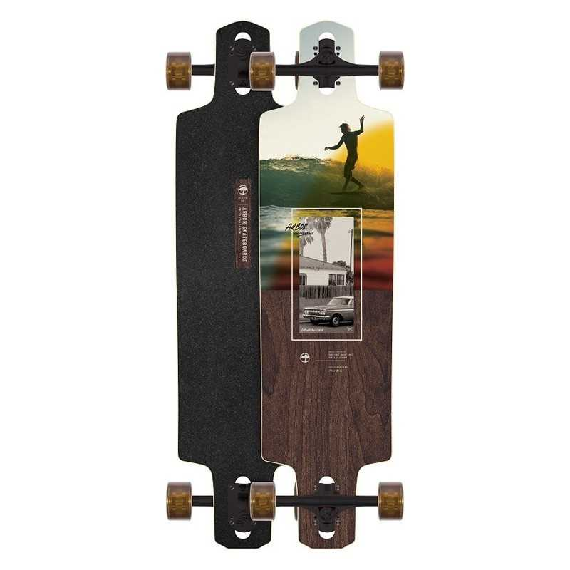 "Arbor Dropcruiser 38"" Photo collection Cole Beal Longboard Complet"