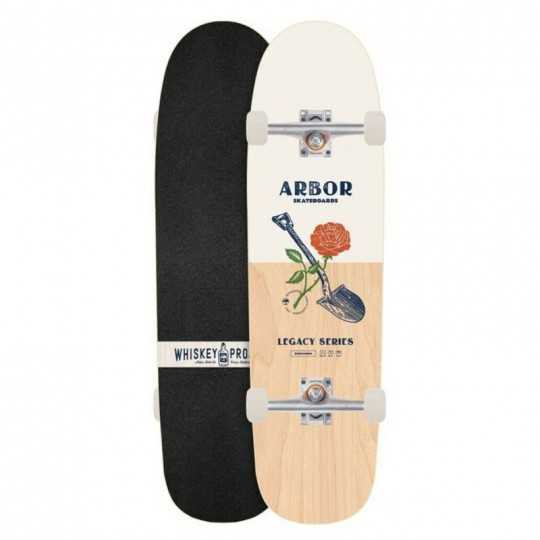 Arbor Cucharon Legacy Whiskey Project Complete Skateboard