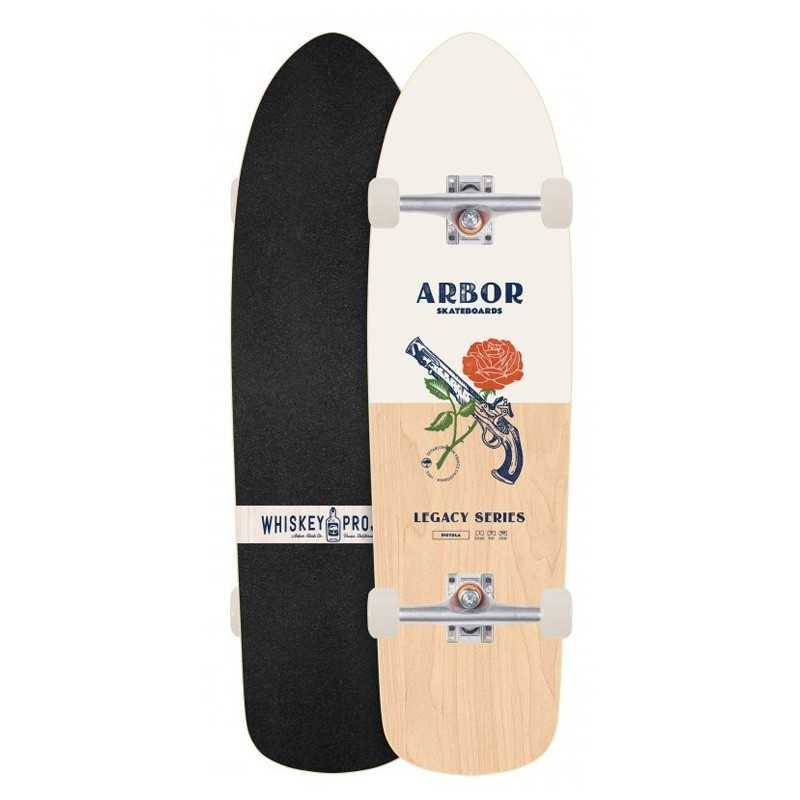 Arbor Pistola Legacy Whiskey Project Skateboard Complet