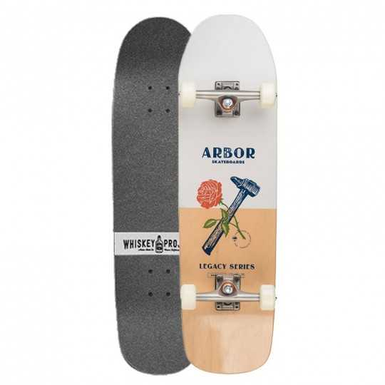 Arbor Martillo Legacy Whiskey Project Skateboard Complet