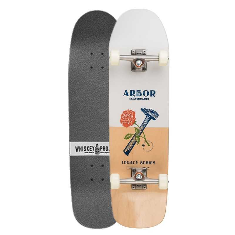 Arbor Martillo Legacy Whiskey Project Complete Skateboard