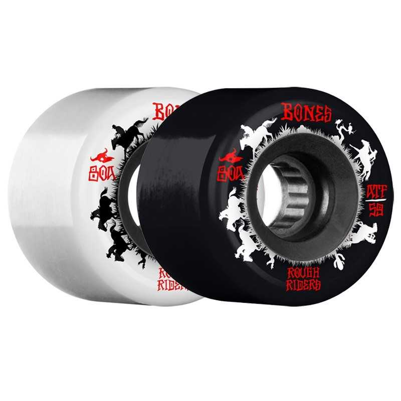 "Bones Rough Riders ATF 59mm ""Wranglers"" Skateboard wheels"