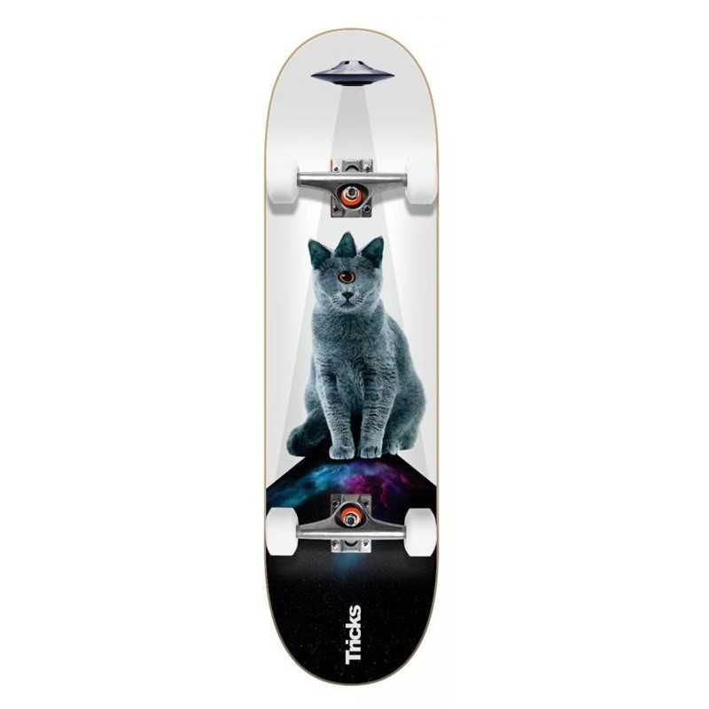 """Tricks UFO 8"""" Skateboard Complet"""