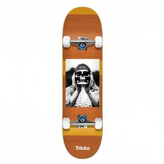 "Tricks Hippie 8"" Complete Skateboard"