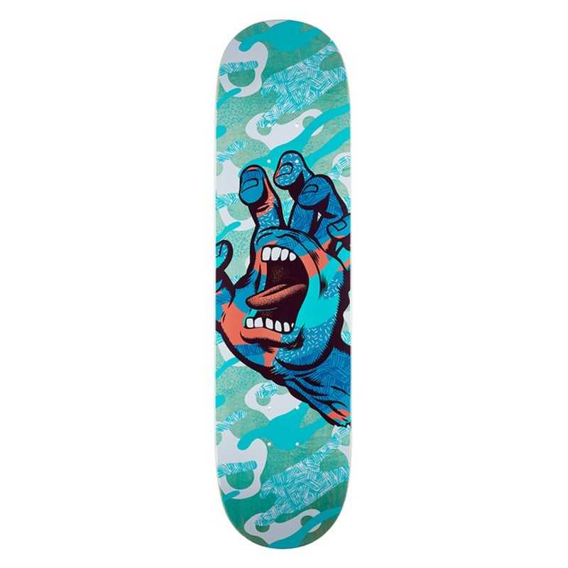 "Santa Cruz Primary Hand 8"" Plateau Skateboard"