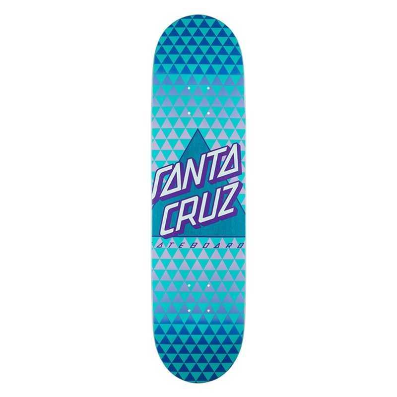 "Santa Cruz Not A Dot 8"" Taper Tip Skateboard Deck"