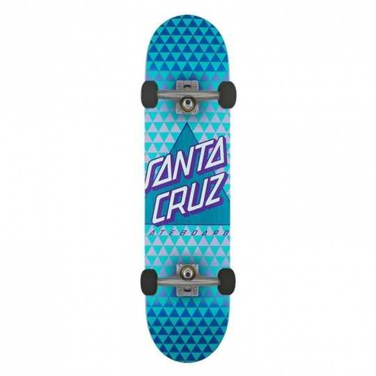 "Santa Cruz Not A Dot 8"" Taper Tip Complete Skateboard"