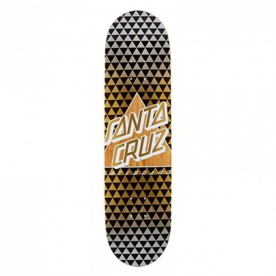 "Santa Cruz Not A Dot 8.25"" Taper Tip Skateboard Deck"