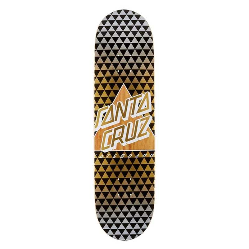 "Santa Cruz Not A Dot 8.25"" Taper Tip Plateau Skateboard"
