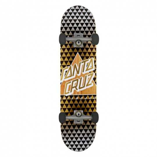"Cruz Not A Dot 8.25"" Taper Tip Complete Skateboard"