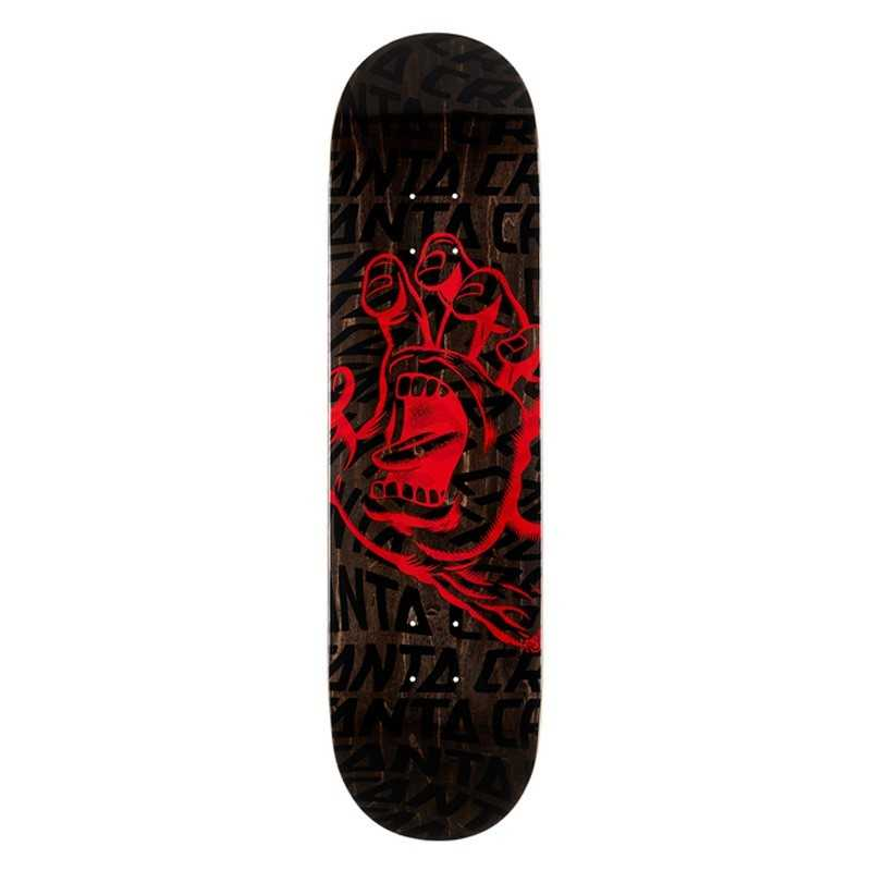 "Santa Cruz Vortex Hand 8.25"" Skateboard Deck"