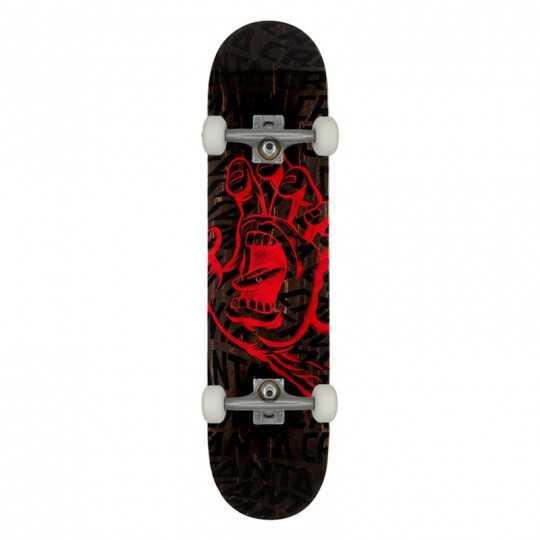 "Santa Cruz Vortex Hand 8.25"" Skateboard Complet"
