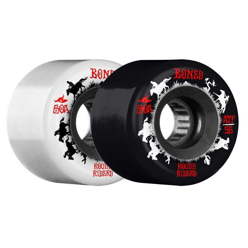 "Bones Rough Riders ATF 56mm ""Wranglers"" Roues skateboard"