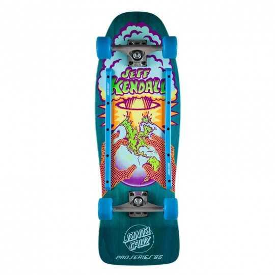 "Santa Cruz End Of The World 10"" Cruiser skateboard"