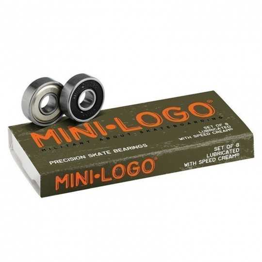Mini Logo Skateboard Bearings(8Pk)