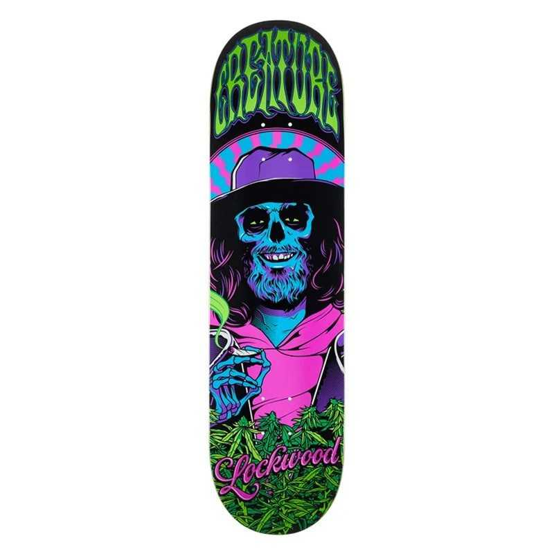 "Creature Smokers Club 8.25"" Lockwood Plateau Skateboard"