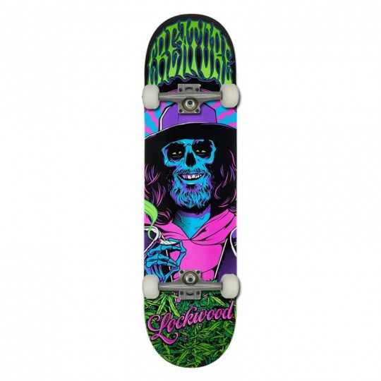 "Creature Smokers Club 8.25"" Lockwood Skateboard Complet"