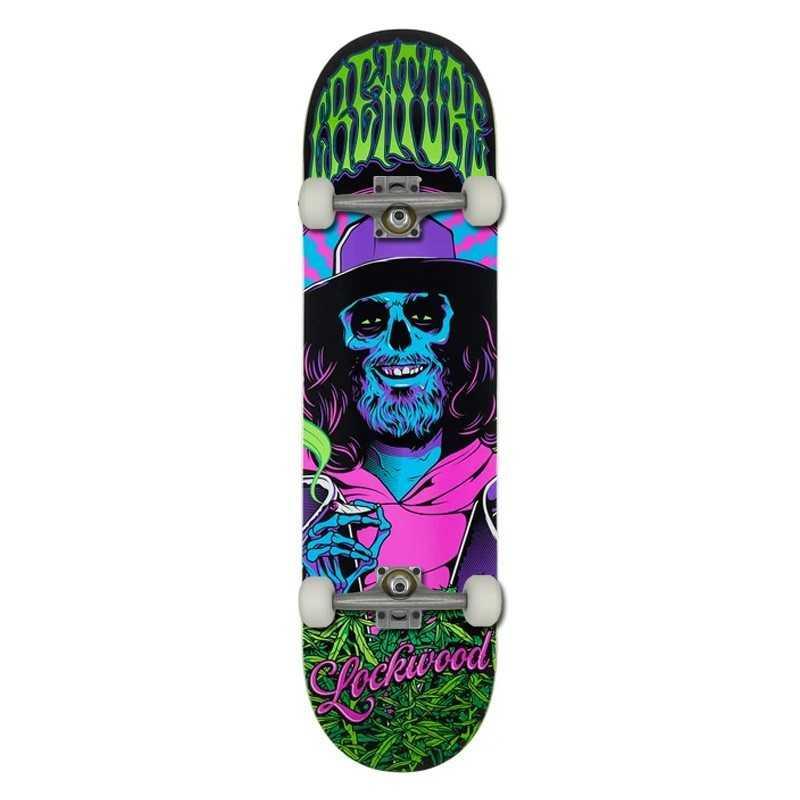 "Creature Smokers Club 8.25"" Lockwood Complete Skateboard"